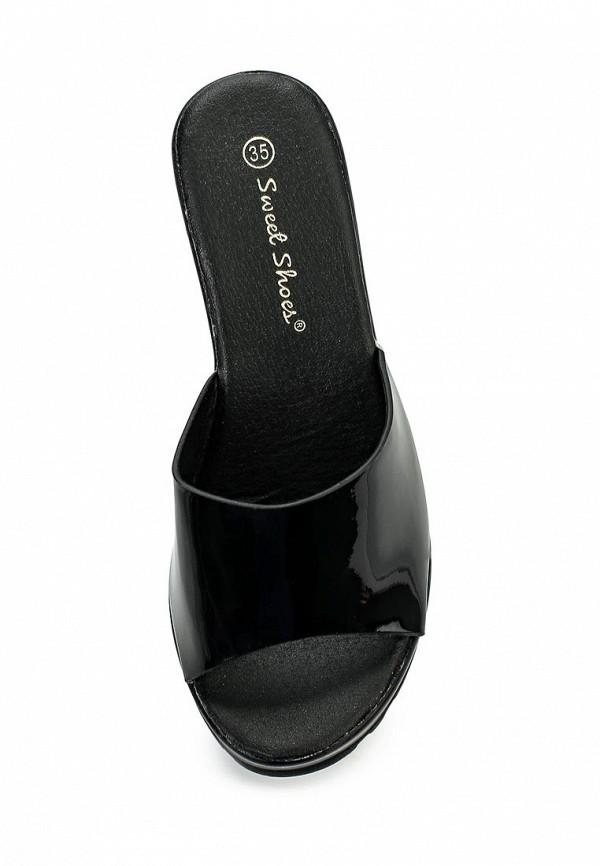 Фото 4 - Сабо Sweet Shoes черного цвета