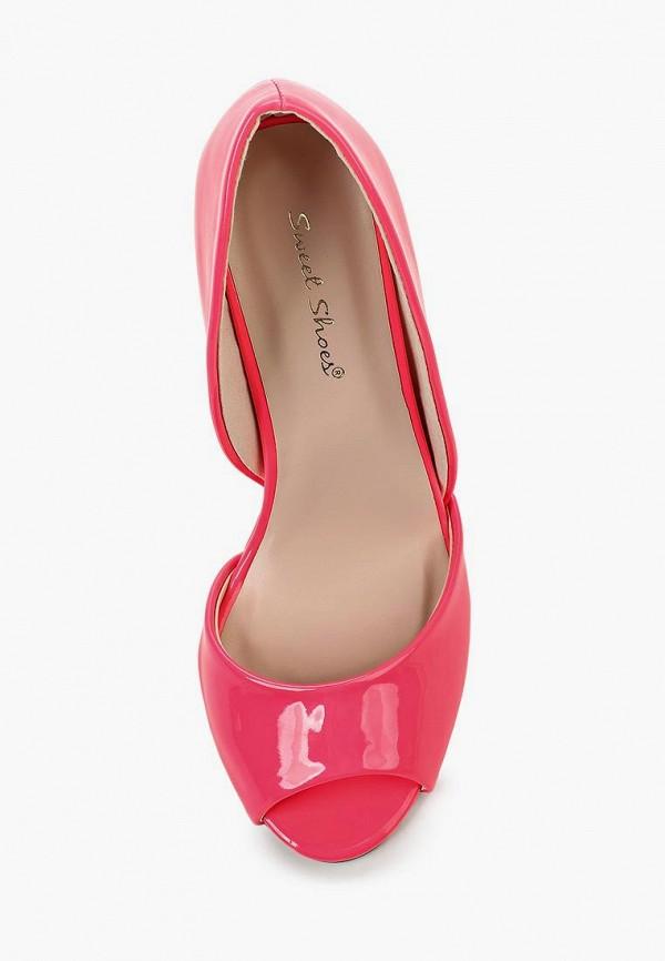 Фото 8 - женские туфли Sweet Shoes розового цвета