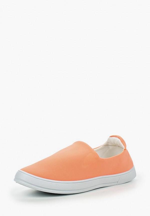 Купить Слипоны Sweet Shoes, SW010AWIYX78, оранжевый, Весна-лето 2016