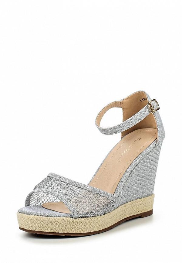 Фото - женские босоножки Sweet Shoes серебрянного цвета