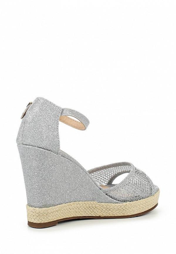 Фото 2 - женские босоножки Sweet Shoes серебрянного цвета