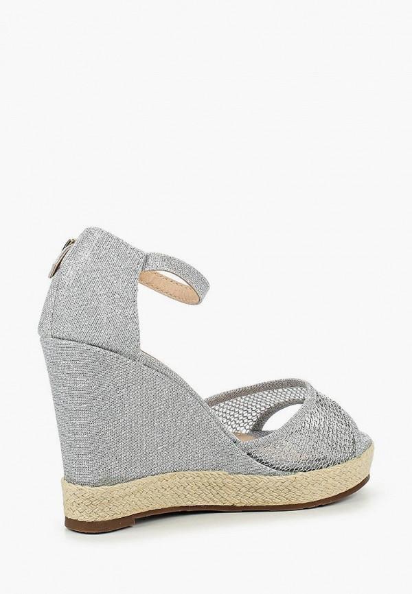 Фото 6 - женские босоножки Sweet Shoes серебрянного цвета