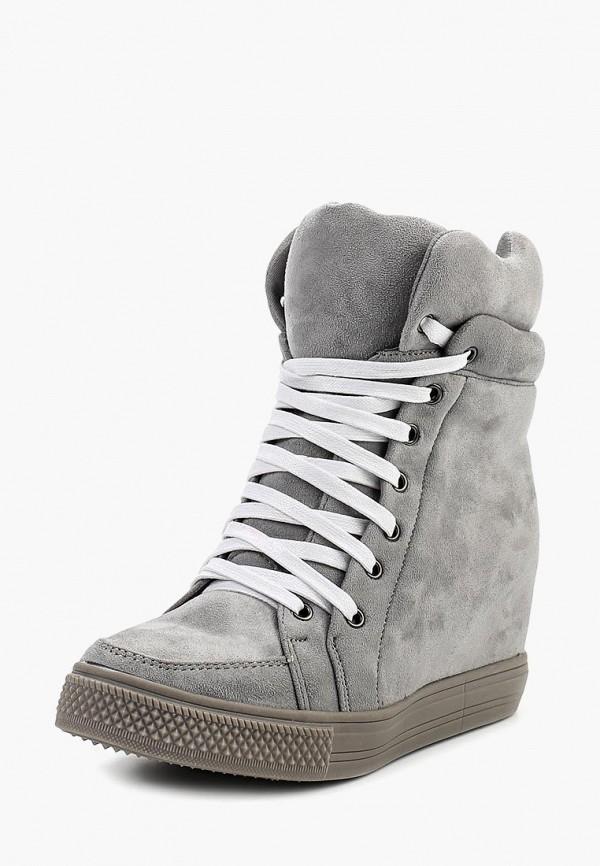 Купить Кеды на танкетке Sweet Shoes, SW010AWRBZ28, серый, Осень-зима 2017/2018