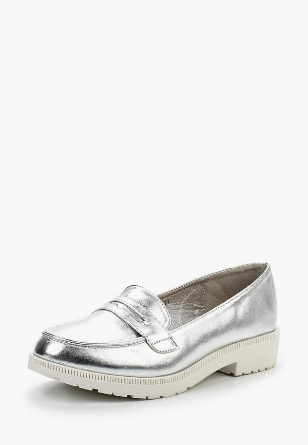 Купить Лоферы Sweet Shoes, SW010AWRBZ60, серебряный, Весна-лето 2017