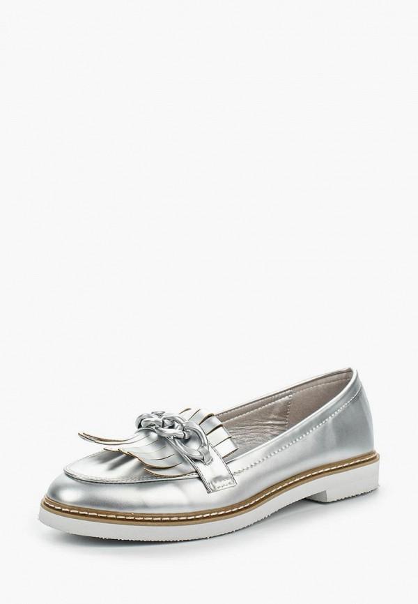 Купить Лоферы Sweet Shoes, SW010AWRWK09, серебряный, Весна-лето 2018