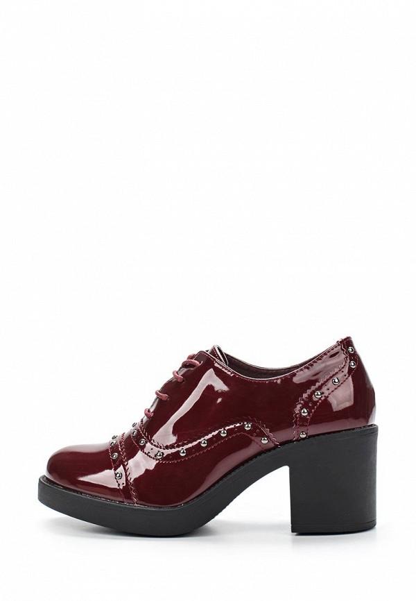 Фото 2 - женские ботильоны Sweet Shoes бордового цвета