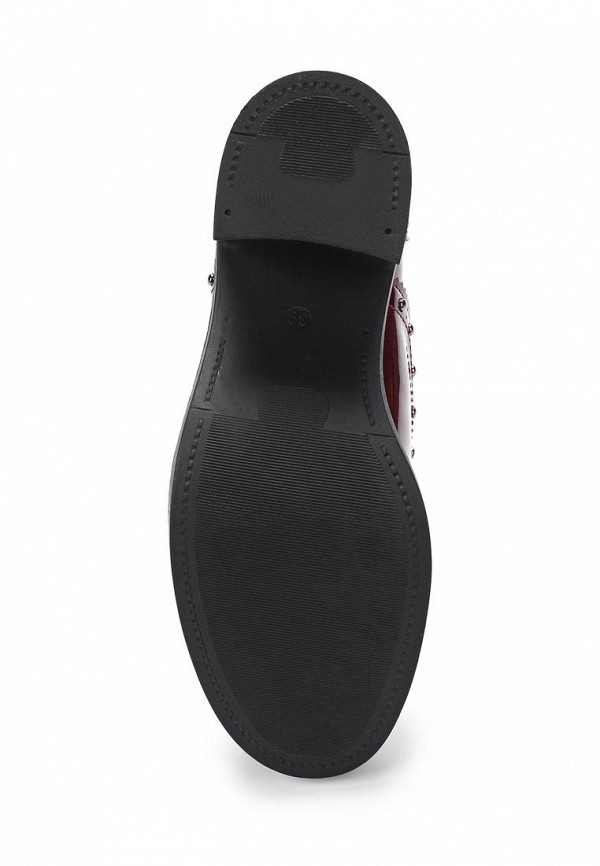 Фото 3 - женские ботильоны Sweet Shoes бордового цвета