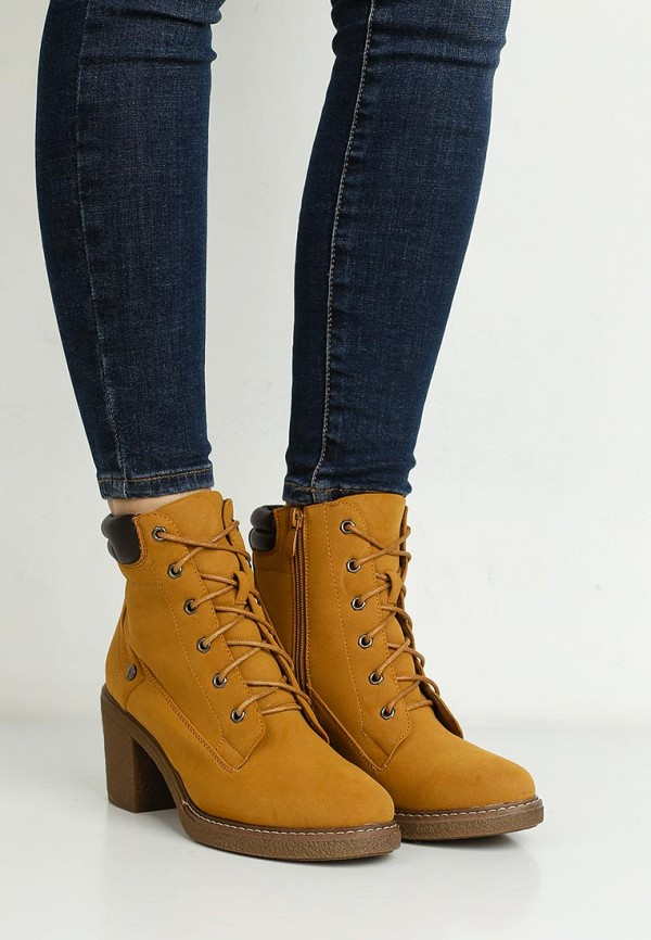 Фото 5 - женские ботильоны Sweet Shoes коричневого цвета