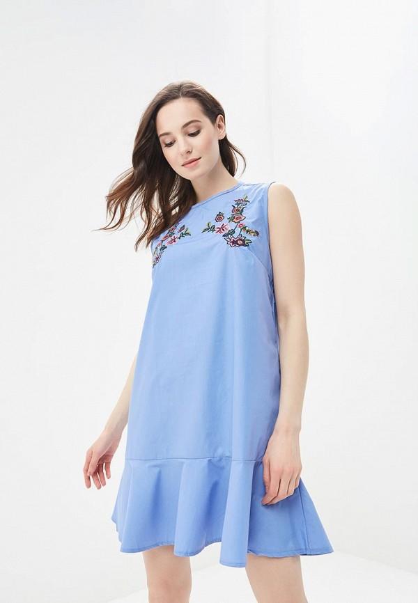 Платье Sweet Miss Sweet Miss SW014EWBFOP1 туника sweet miss цвет синий