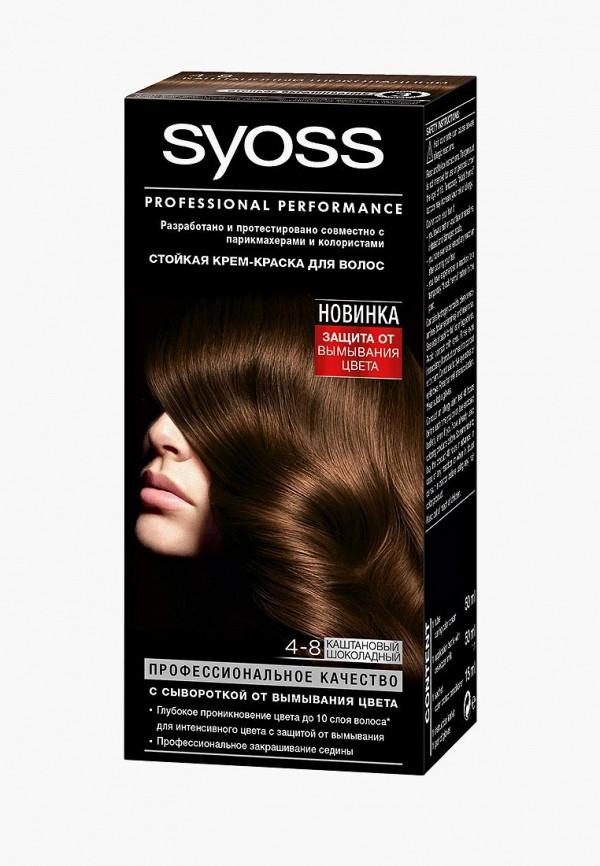 Купить Краска для волос Syoss, Color 4-8 Каштановый шоколадный, 50 мл, SY001LWJOJ51, Весна-лето 2018