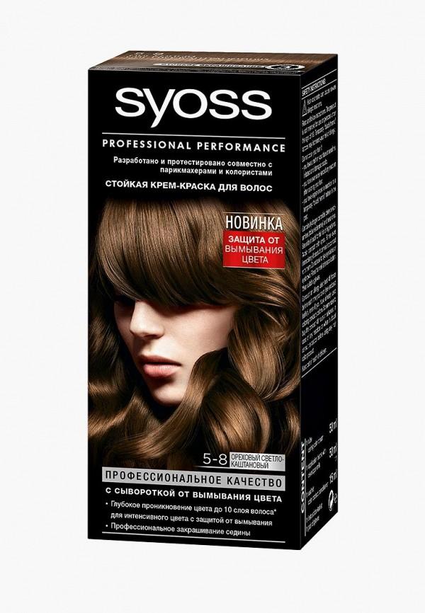 Купить Краска для волос Syoss, Color 5-8 Ореховый светло-каштановый, 50 мл, SY001LWJOJ54, Весна-лето 2018