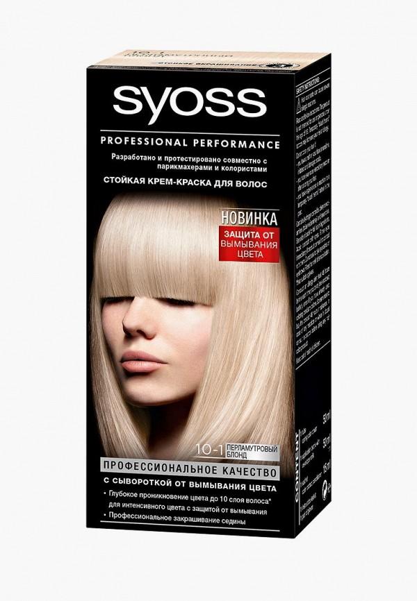 Купить Краска для волос Syoss, Color 10-1 Перламутровый блонд, 115 мл, SY001LWJOJ57, Весна-лето 2018