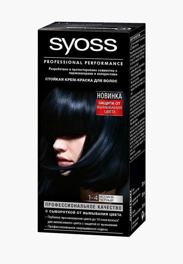 Купить Краска для волос Syoss, Color 1-4 Иссиня-черный, 50 мл, SY001LWJOJ66, Весна-лето 2018
