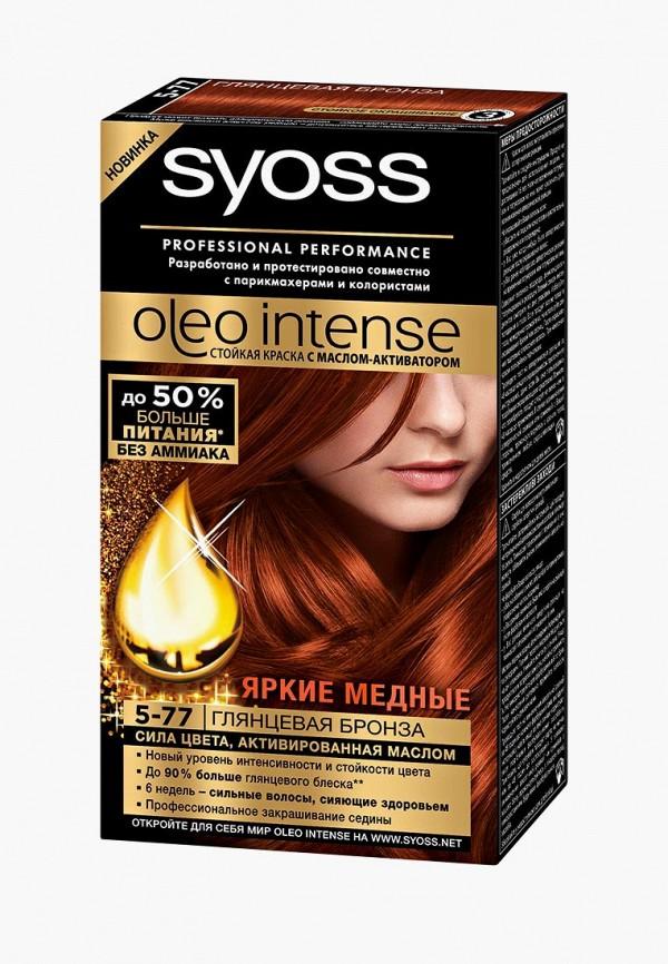 Купить Краска для волос Syoss, Oleo Intense 5-77 Глянцевая бронза, 115 мл, SY001LWJOK04, Весна-лето 2018