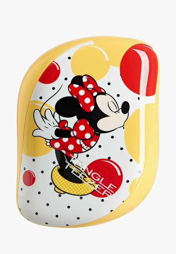 Купить Расческа Tangle Teezer, Compact Styler Minnie Mouse Sunshine Yellow, TA022LWAE207, желтый, Весна-лето 2018