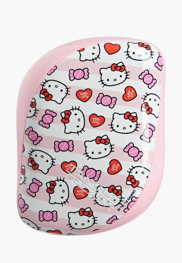 Купить Расческа Tangle Teezer, Compact Styler Hello Kitty Candy Stripes, TA022LWBPGT1, розовый, Весна-лето 2018