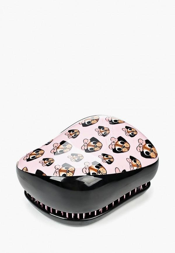 Купить Расческа Tangle Teezer, Compact Styler Pug Print, TA022LWNLJ29, розовый, Весна-лето 2018
