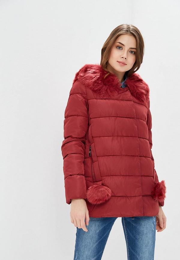 Куртка утепленная Tantra, TA032EWAFXX2, бордовый, Весна-лето 2018  - купить со скидкой