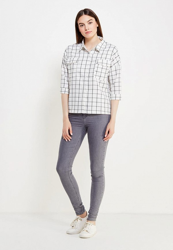 Фото 2 - женскую рубашку Tantra белого цвета