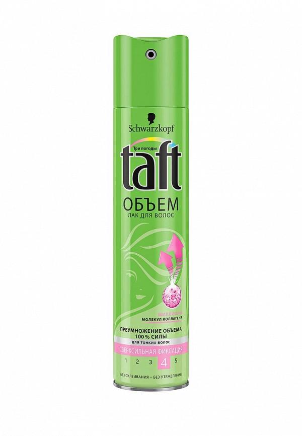 Лак для волос Taft Senso-Touch Объем очень сильная фиксация, 225 мл