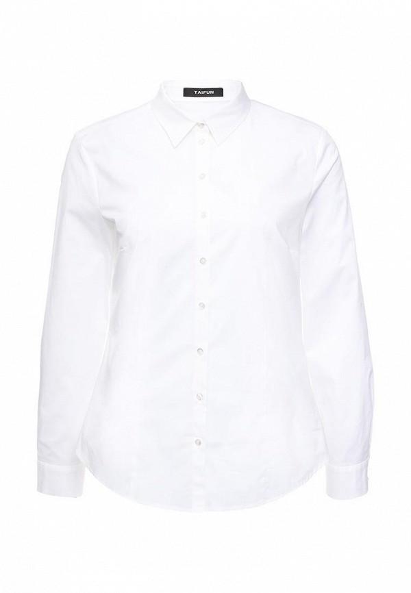 Рубашка Taifun Taifun TA037EWRFY46 брюки taifun taifun ta037ewrfy31