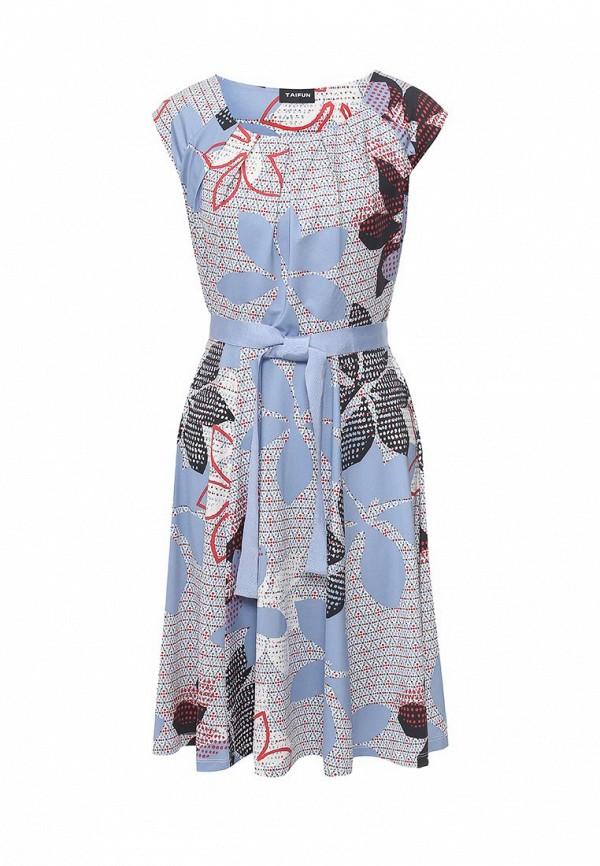Платье Taifun Taifun TA037EWRFY68 taifun блузa taifun qc47103116166 60419