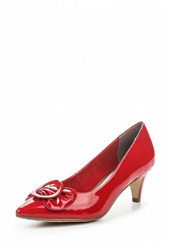 Туфли Tamaris Tamaris TA171AWOZR97 tamaris туфли летние открытые tamaris 1 1 29300 22 524 красный