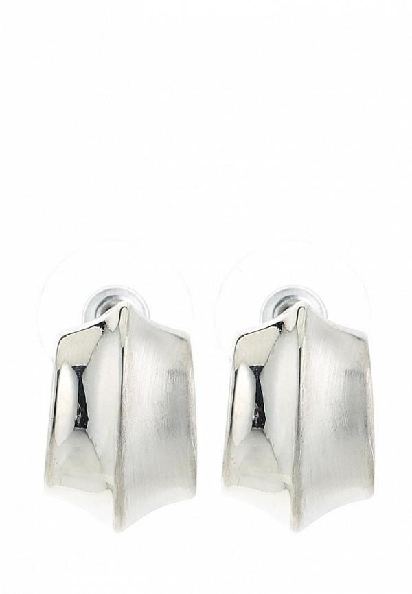 Женские серьги Taya T-B-6034-EARR-SILVER