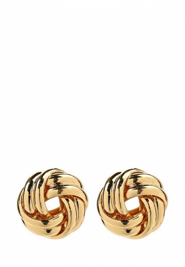 Женские серьги Taya T-B-10770-EARR-GOLD