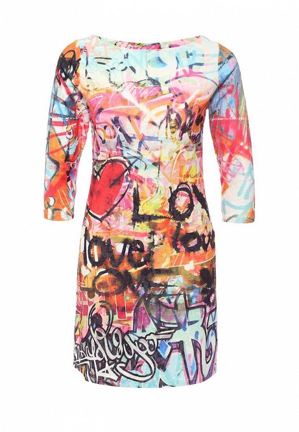 Платье-мини Taya T-07-0827-D-WHITE