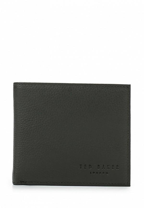 Купить мужской кошелек или портмоне Ted Baker London цвета хаки