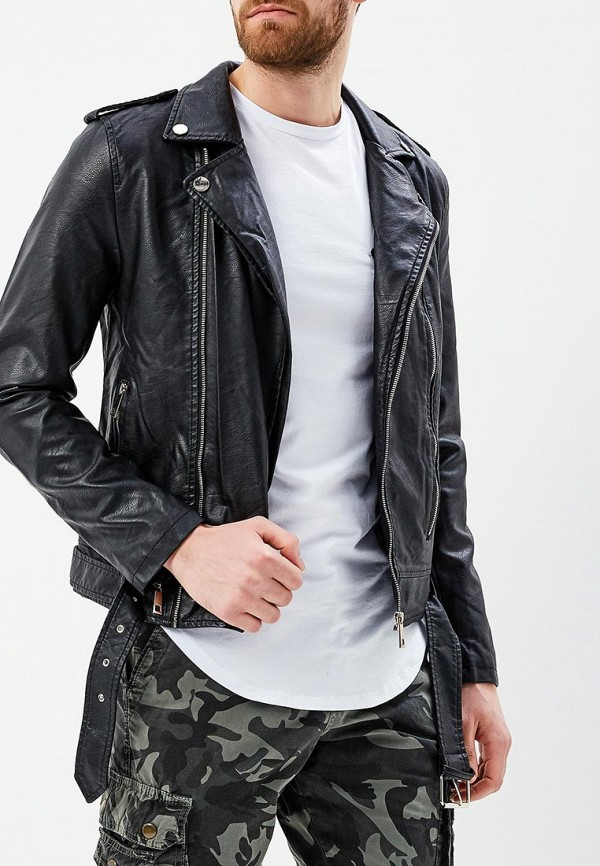 Куртка кожаная Terance Kole