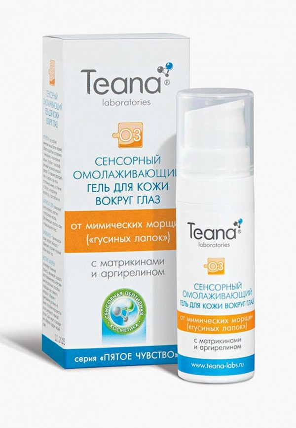 Гель для кожи вокруг глаз Teana Teana TE022LWVIR85 гель teana o2 гель экспресс лифтинг 5 мл