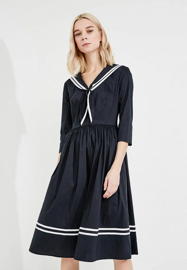 Купить Платье Terekhov Girl, TE024EWAKHU1, синий, Весна-лето 2018