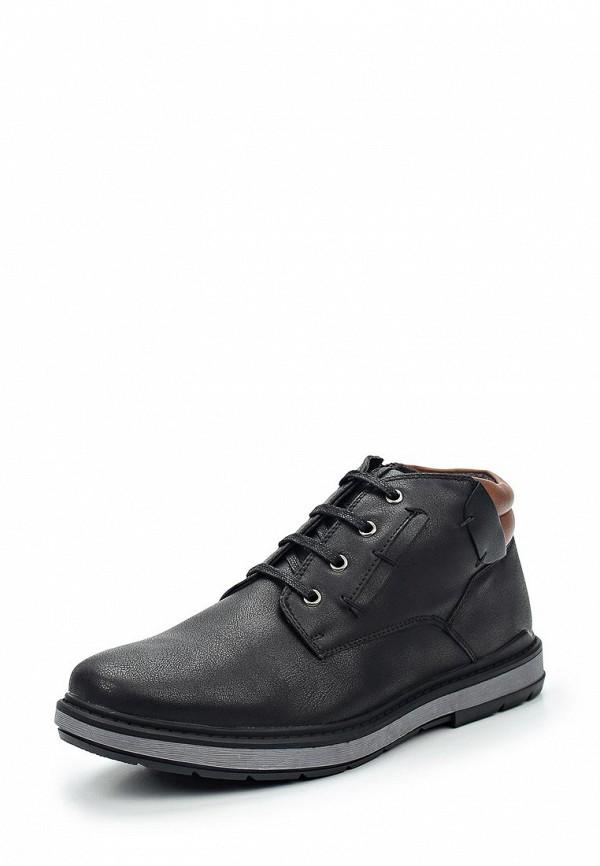Фото - мужские ботинки и полуботинки Tesoro черного цвета