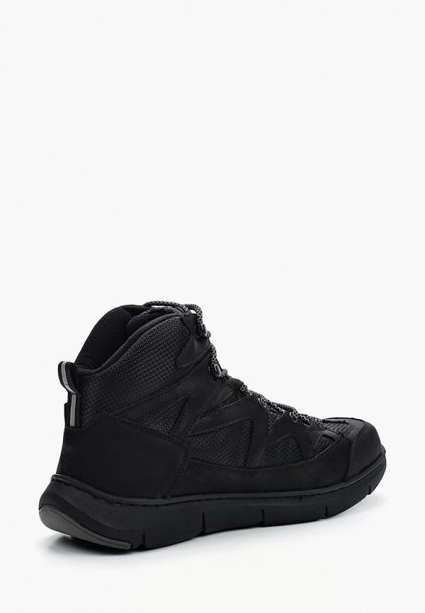 Фото 7 - мужские ботинки и полуботинки Tesoro черного цвета