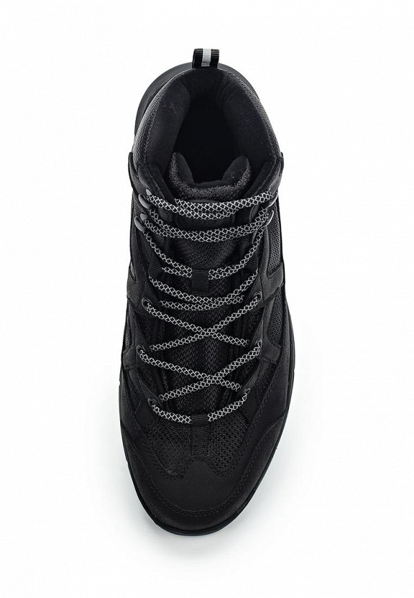 Фото 4 - мужские ботинки и полуботинки Tesoro черного цвета