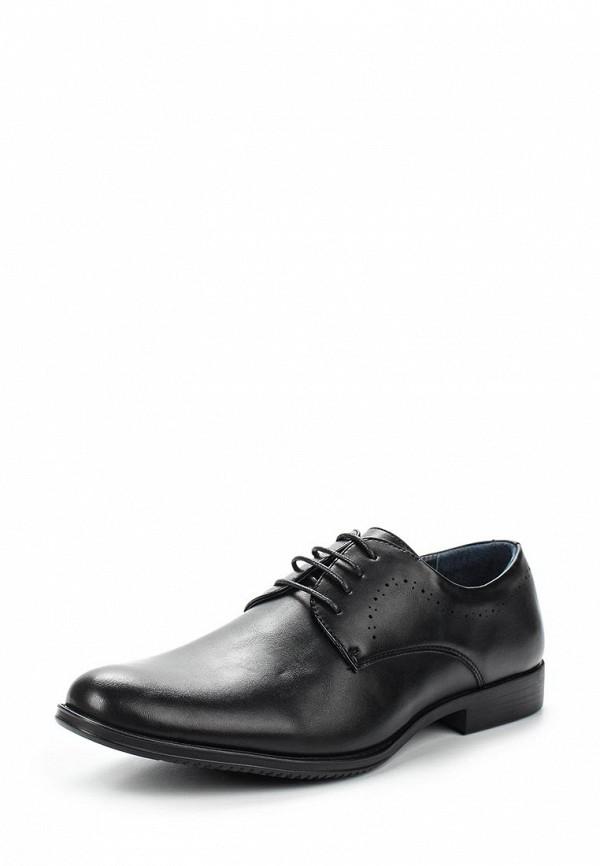 Фото - мужские туфли Tesoro черного цвета
