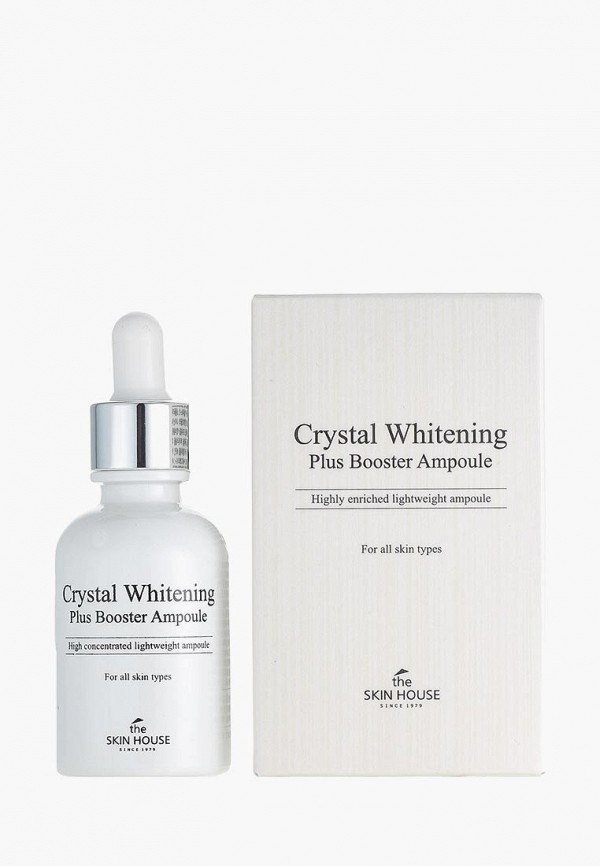 Купить Сыворотка для лица The Skin House, Концентрированная ампульная «Crystal Whitening Plus» 30 мл, TH009LWAZ446, Весна-лето 2018