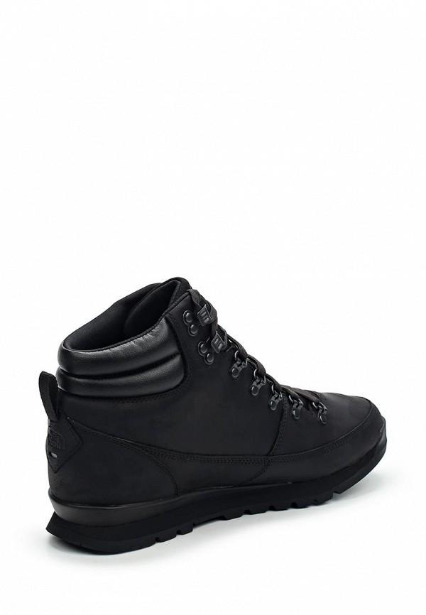 Фото 2 - мужские ботинки и полуботинки The North Face черного цвета