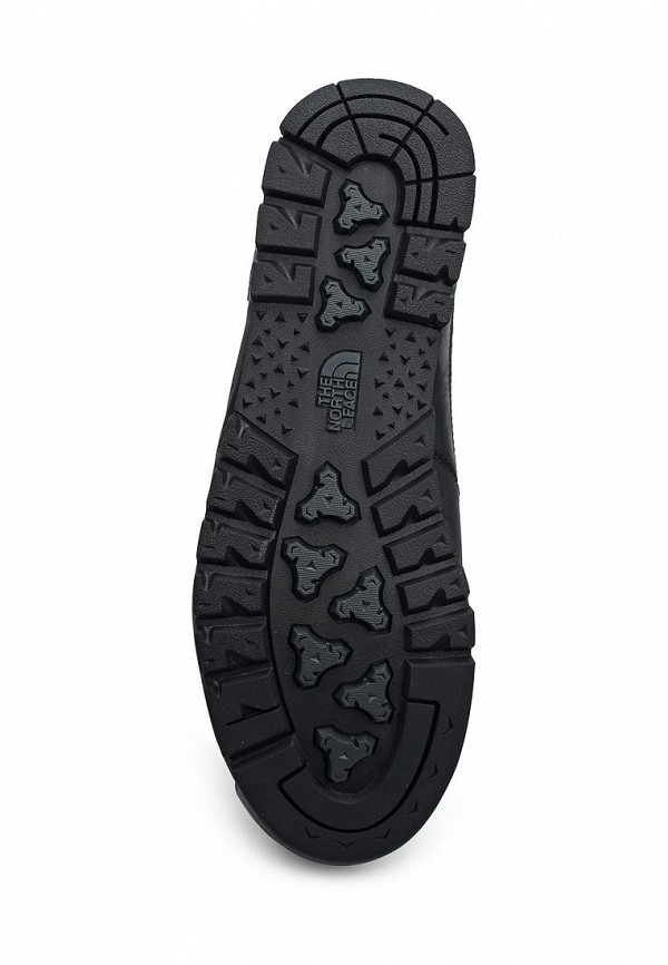 Фото 3 - мужские ботинки и полуботинки The North Face черного цвета