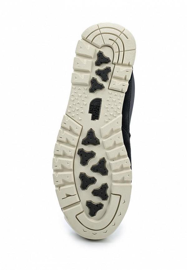 Фото 3 - женские ботинки и полуботинки The North Face черного цвета