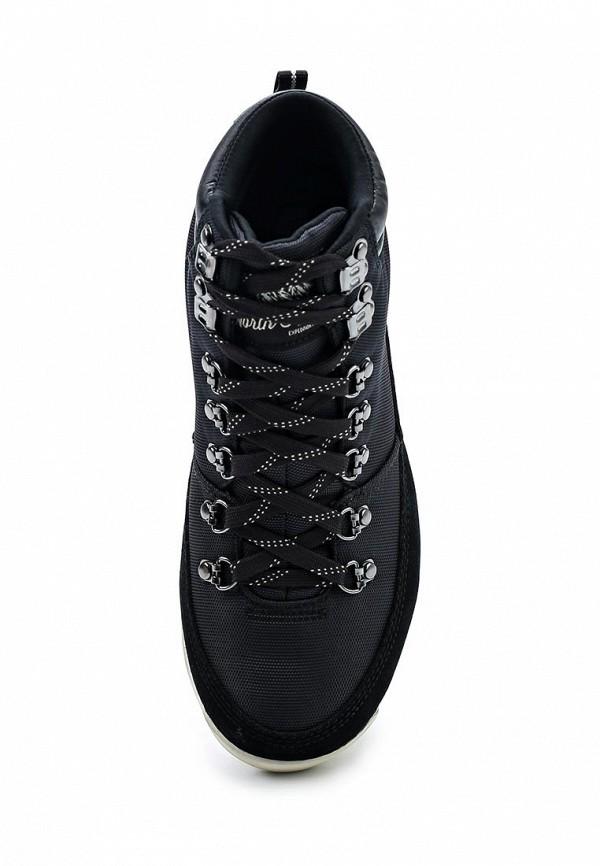 Фото 4 - женские ботинки и полуботинки The North Face черного цвета