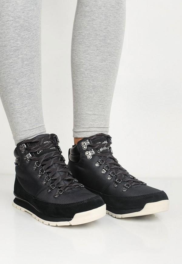 Фото 5 - женские ботинки и полуботинки The North Face черного цвета
