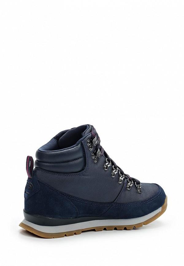 Фото 2 - женские ботинки и полуботинки The North Face синего цвета