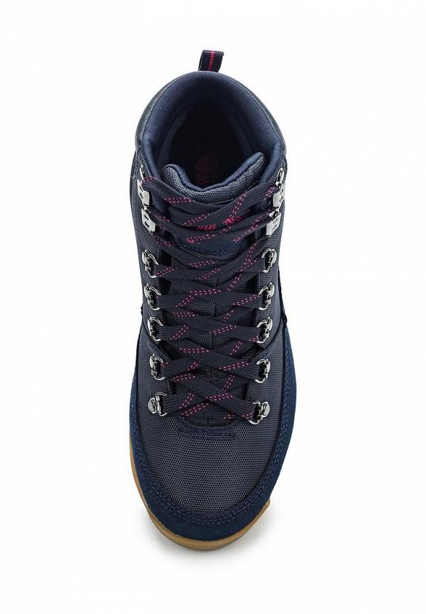 Фото 4 - женские ботинки и полуботинки The North Face синего цвета