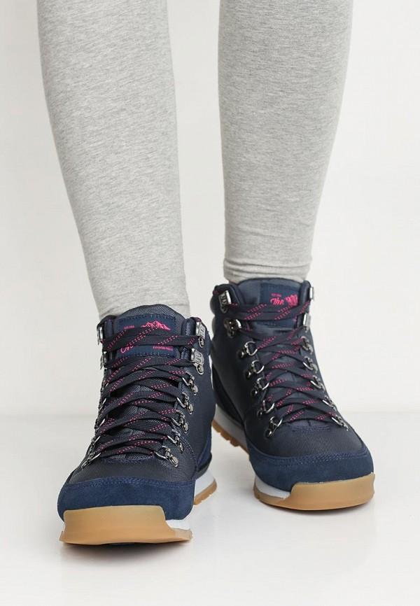 Фото 5 - женские ботинки и полуботинки The North Face синего цвета