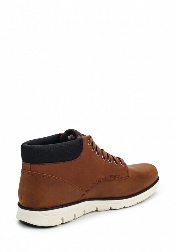Фото 2 - мужские ботинки и полуботинки Timberland коричневого цвета