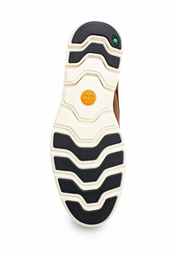 Фото 3 - мужские ботинки и полуботинки Timberland коричневого цвета