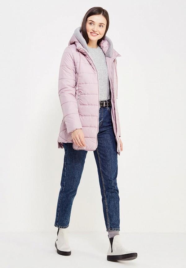 Фото 2 - Куртку утепленная Time For Future розового цвета